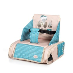 Booster chair lift bag blue and beige MS