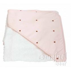 Lucia Choco layer pink bathroom