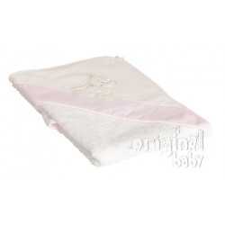 Drink pink bath cape
