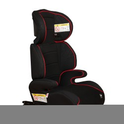 Bali car seat Isofix elevator Groups 2-3 Black