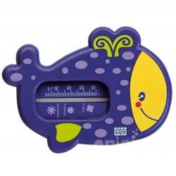 Purple bath thermometer snorkel