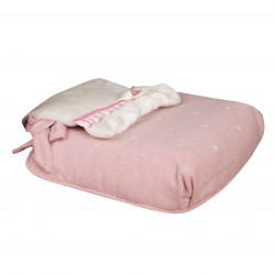 Bugaboo carrycot coverlet caricias Pink