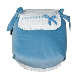 Autumn Blue Bedspread car carrycot