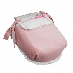 Autumn bassinet coverlet Rosa