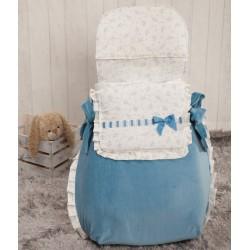 Autumn baby bag 3 uses Blue